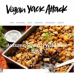 Autumn Squash Wild Rice Bake - Vegan Yack Attack