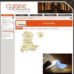 AUVERGNE - Saveurs de France