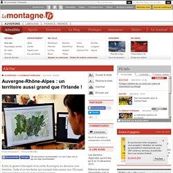 FUSION REGIONALE (03.12.15) Auvergne-Rhône-Alpes : un territoire aussi grand que l'Irlande !
