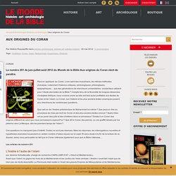 Aux origines du Coran Le Monde de la Bible