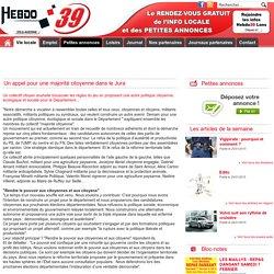 Hebdo 39 Dole Auxonne - Journal Jura et petite annonce Jura - Dole - Auxonne