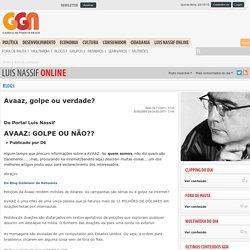 Avaaz, golpe ou verdade?