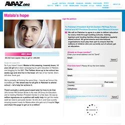 Malala's hope