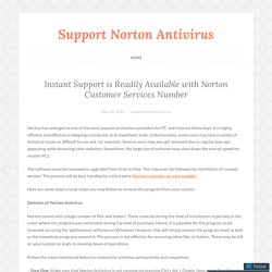 Instant Support is Readily Available with Norton Customer Services Number – Support Norton Antivirus