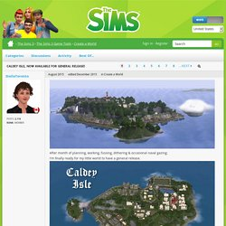 Caldey Isle, now available for general release! - The Sims Forums
