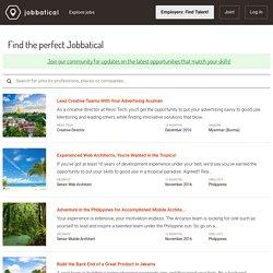 Explore available positions - Jobbatical.com Beta