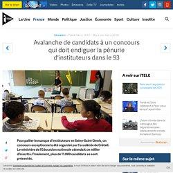 Avalanche de candidats à un concours qui doit endiguer la pénurie d'instituteurs dans le 93