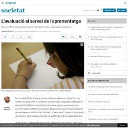 L'avaluació al servei de l'aprenentatge (Ismael Palacín)