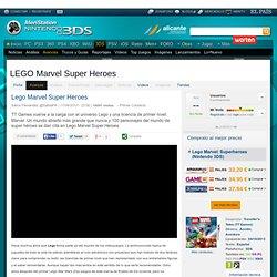 Avance LEGO Marvel Super Heroes Nintendo 3DS