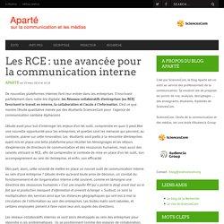 Les RCE : une avancée pour la communication interne