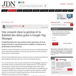 Une avancée dans la gestion et la fiabilité des datas grâce à Google Tag Manager