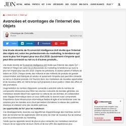 Avancées et avantages de l'Internet des Objets