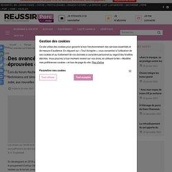 REUSSIR PORCS 24/03/21 Des avancées sur le bien-être des porcs, éprouvées en élevage