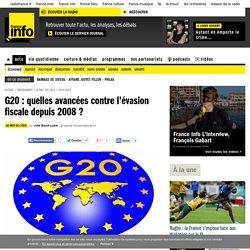 G20 : quelles avancées contre l'évasion fiscale depuis 2008 ?