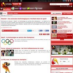Dossier : les avancées technologiques s'invitent dans le sport