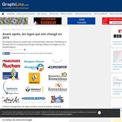 Avant après, les logos qui ont changé en 2015