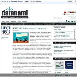 Meet the Avant-Garde of New Relational Databases