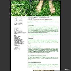 3.a. Marcher pieds nus – Avantages et bienfaits