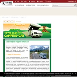 Les avantages du voyage en camping-car : Camping-car : Dossier pratique de voyage
