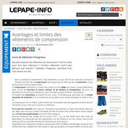Avantages et limites des vêtements de compression