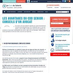 Les avantages du CDD senior