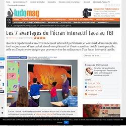 Les 7 avantages de l'écran interactif face au TBI