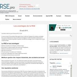 Avantages de la RSE pour Entreprise