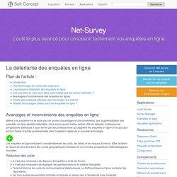 Dossier Enquête en ligne : Avantages et Inconvénients des enquêtes en ligne