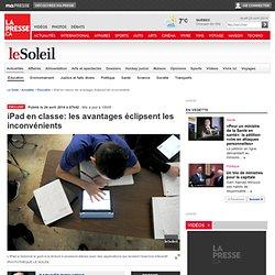 iPad en classe: les avantages éclipsent les inconvénients
