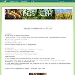 Avantages et inconvénients - Exposé sur les OGM