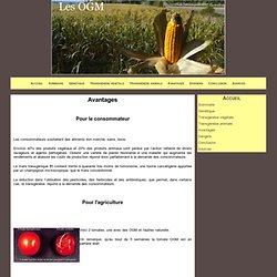 Avantages - Les OGM