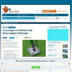 Avantages et limites du microapprentissage