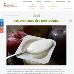 Les avantages des probiotiques - Unlock Food