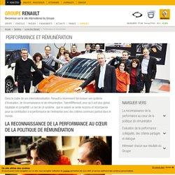Avantages et rémunération chez Renault
