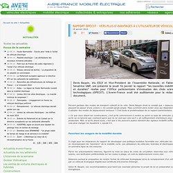 Rapport OPECST - Vers plus d'avantages à l'utilisateur de véhicule propre