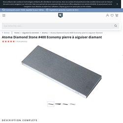 Atoma Diamond Stone #400 Economy pierre à aiguiser diamant