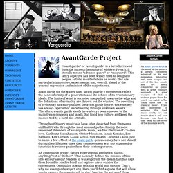 Avant Garde Project - 20th Century Classical, Electroacoustic, Avant Garde Music Downloads