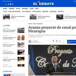Avanza proyecto de canal por Nicaragua