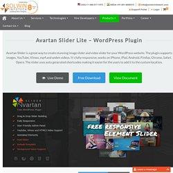 Avartan Lite - Free Responsive Slider