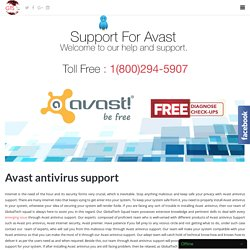 Support For Avast Antivirus Toll Free:-1-800-294-5907