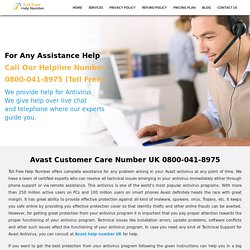 Remain updated with Avast Support Number UK 0800 090 3228