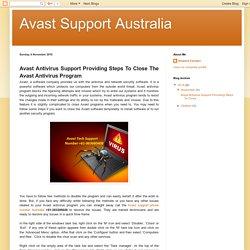Avast Support Australia