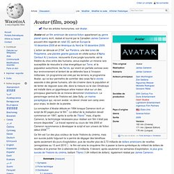 Avatar 2009 film  Wikipedia
