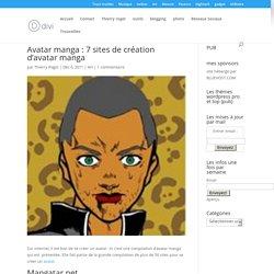 Avatar manga : 7 sites de création