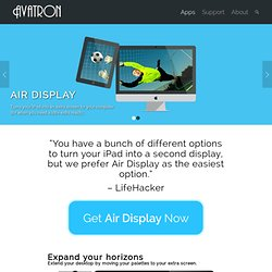 Software: Air Display