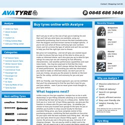 Avatyre passes on the tyre discounts