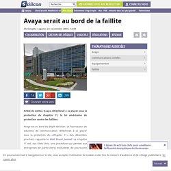 Avaya serait au bord de la faillite