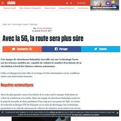 Avec la 5G, la route sera plus sûre