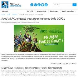 Avec la LPO, engagez-vous pour le succès de la COP21
