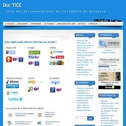 Avec quels outils doit-on chercher sur le web ?